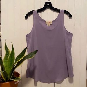 Wishful Park Tank Top Business Casual Lavender M